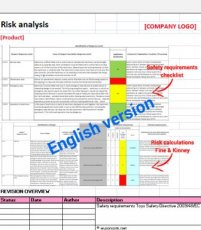 G2. Risk analysis Toys Safety Directive